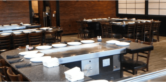 Teppanyaki cooking grill/table